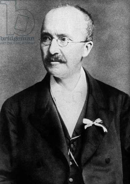 Archaeologist Heinrich Schliemann