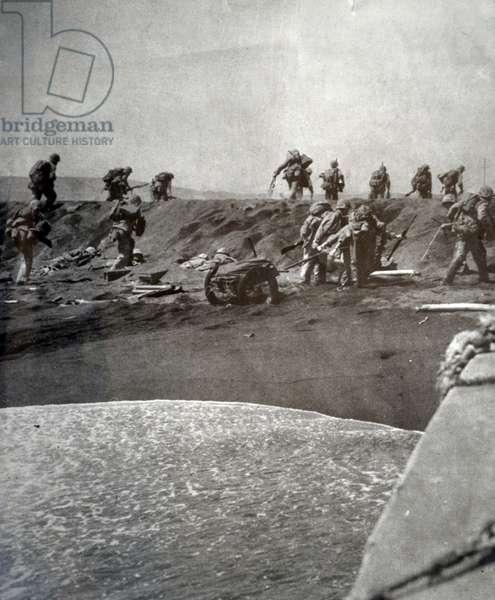 Dash to Shore, Iwo Jima