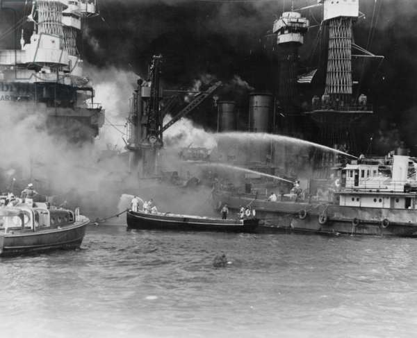Pearl Harbor Attack 1941 (photo)