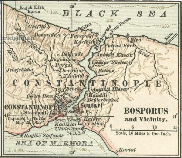Map of Bosporus