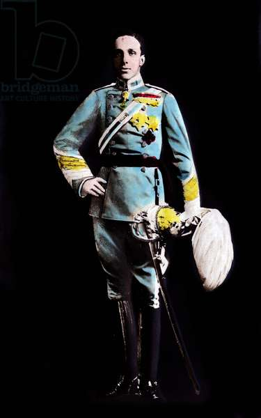 Alfonso XIII, 1910