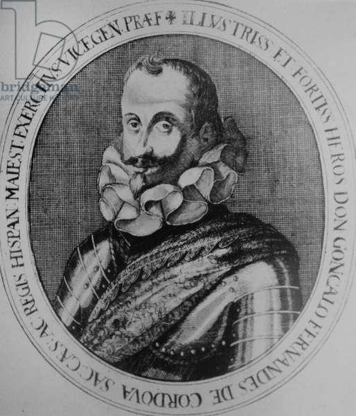 Gonzalo Andrés Domingo Fernández de Córdoba (1585 – 1645). Spanish military leader