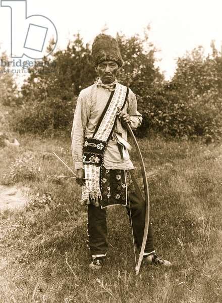 Os Ko Bos (Chippewa) 1907 (photo)