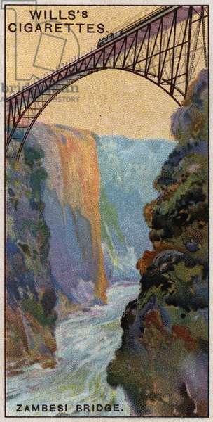 Engineering Wonders, 1927: Zambesi Bridge over Victoria Falls, Zimbawe (formerly Rhodesia.