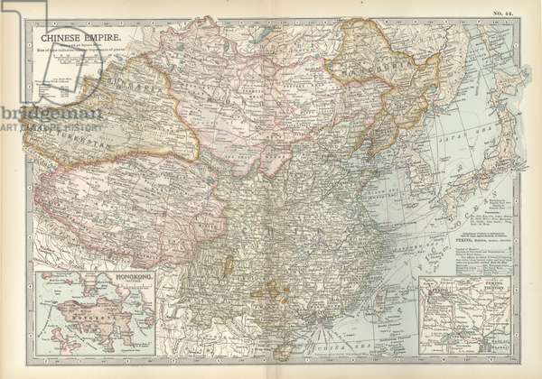 Map of the Chinese Empire