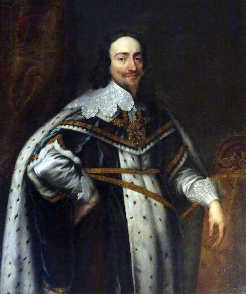Portrait of King Charles I by Anthony van Dyck