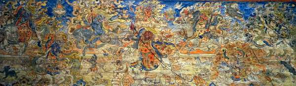 Protector deities of the Tibetan Government and Buddhism.