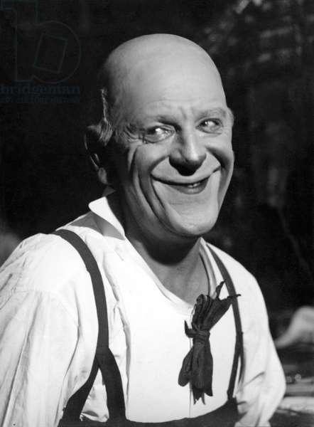 Paris, France c.1920 Grock, the famous Swiss clown.  (b/w photo)
