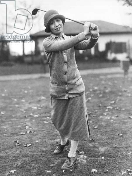 Princess Asaka Golfing