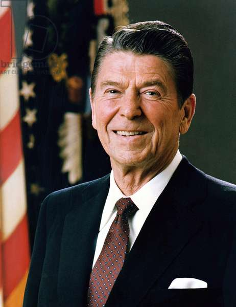 Ronald Reagan 1911-2004. 40th President of the United States. 1981-1989.
