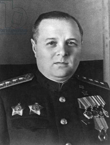 Kirill A, Meretskov, Marshal of the Soviet Union, World War 2 Soviet Commander.