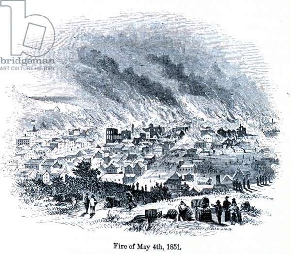 The San Francisco fire of May 4th; 1850.