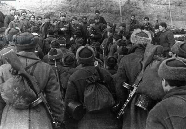 World War 2, Battle of Stalingrad, Major General Guriev, Commander of the Division