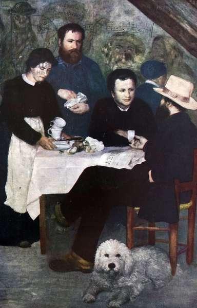 Le cabaret de la Mere Antony Bourron-Marlotte, 1850