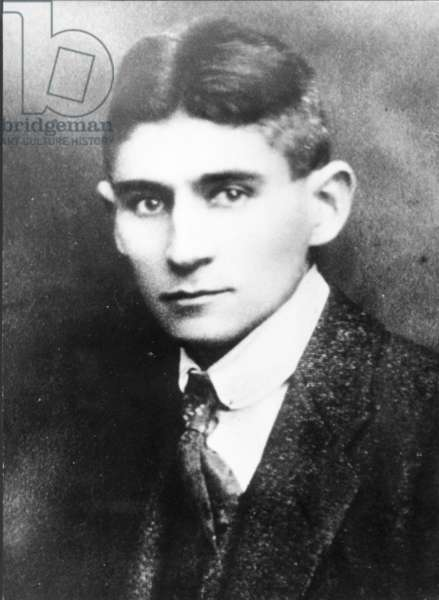 Franz Kafka, Czech Author.