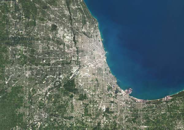 Chicago, Illinois, USA in 2014 (photo)