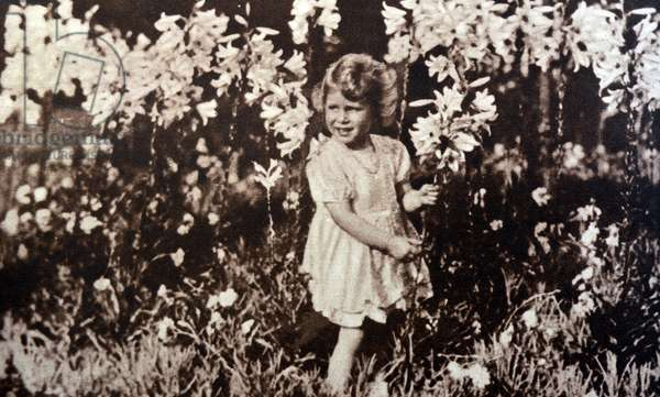 Princess Elizabeth later Queen Elizabeth II, 1930