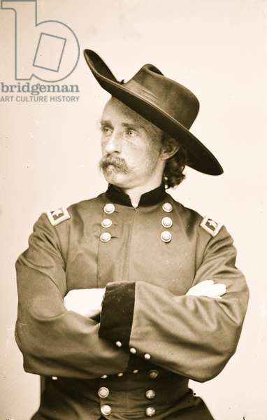 General George Armstrong Custer 1863 (photo)