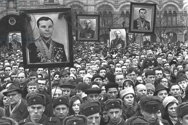 The Funeral Of Yury Gagarin And V.Seryogin On 30Th March 1968 In The Red Square
