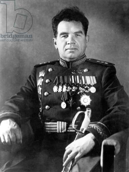 General Vasily Chuikov, Head of Russian 62Nd Army (At Stalingrad).