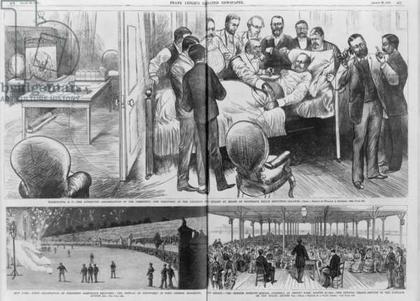 Events related to the assassination of President Garfield, 1881