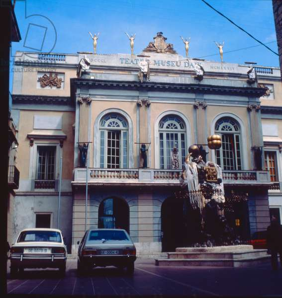The Salvador Dali Theatre and Museum in his home town of Figueres (photo)