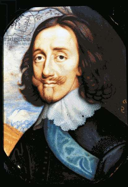 Charles I (1600 - 1649) king of Great Britain