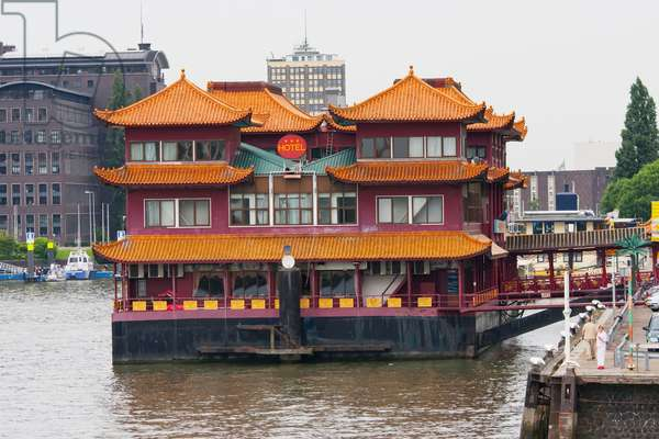 Floating Chinese Style New Ocean Paradise Hotel, Rotterdam, Netherlands (photo)