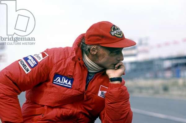 Niki Lauda, 1975 (photo)