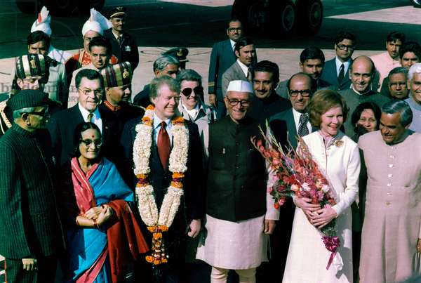 January 1978 visit of US President Jimmy Carter to India