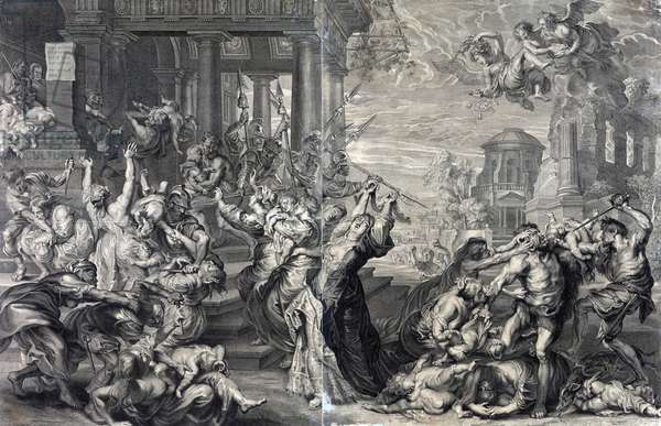 Massacre of the innocents ordered by Herod
