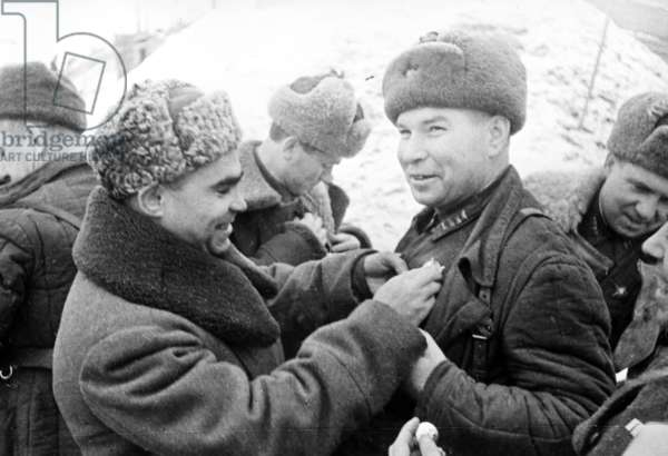 Presentation of Decorations December 1942, Stalingrad.