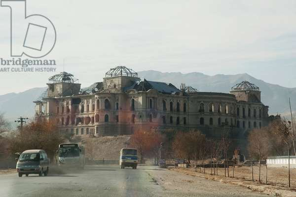 Darulaman Palace, Kabul, Afghanistan (photo)