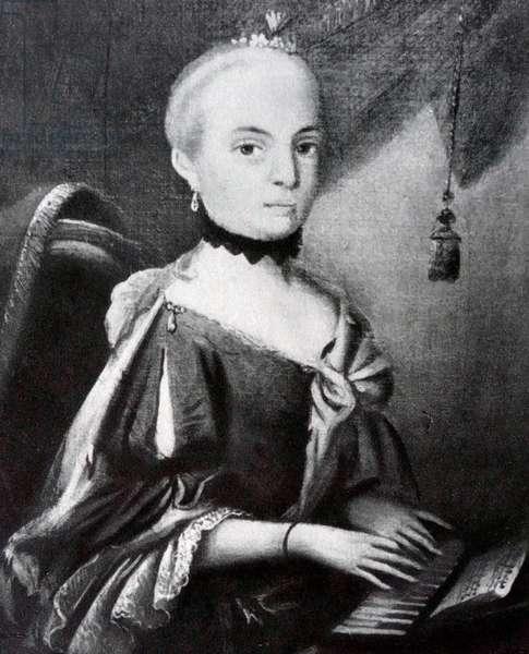 Louise Von Robinig von Rottenfeld, a childhood friend of Mozart
