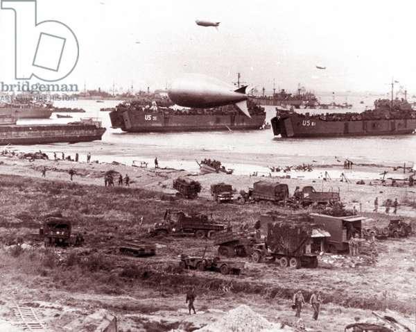D-Day landing vehicle