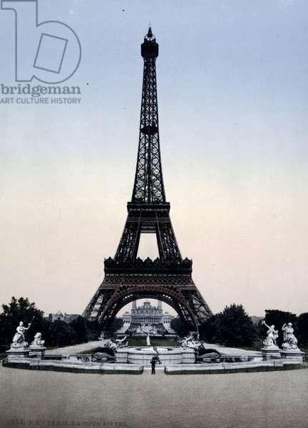 Eiffel Tower, 1896