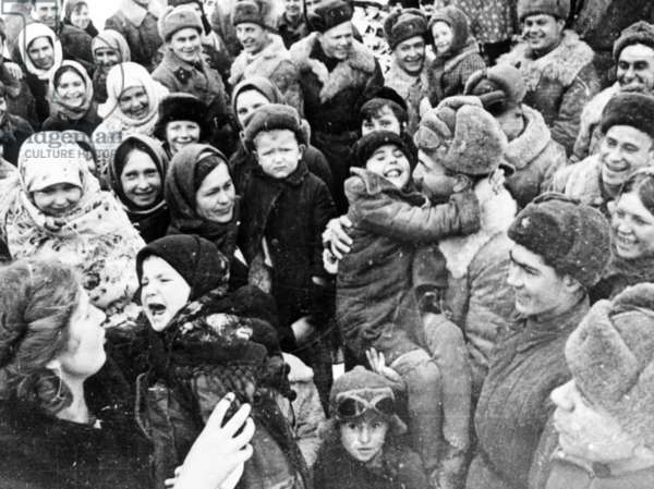 Liberation of Stalingrad, 1943.