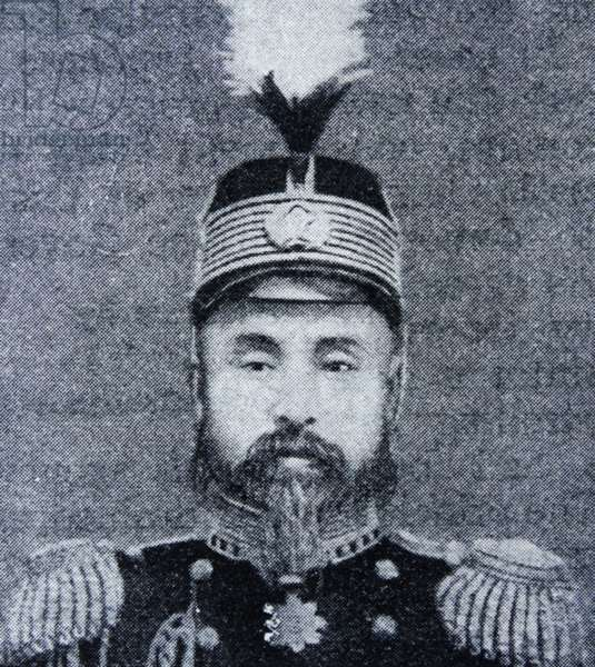 Photographic portrait of Prince and society leader, Min Yong Quan