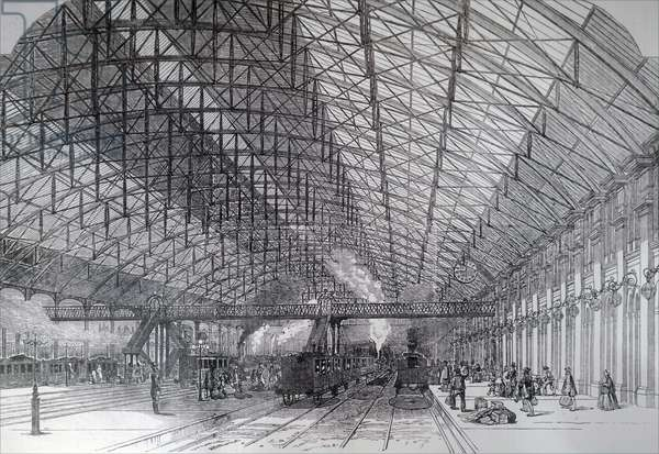 Grand Central Railway Station, Birmingham.