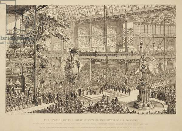 Great Exhibition 1851 'The Opening of the Great Industrial Exhibition of All Nations', 1851
