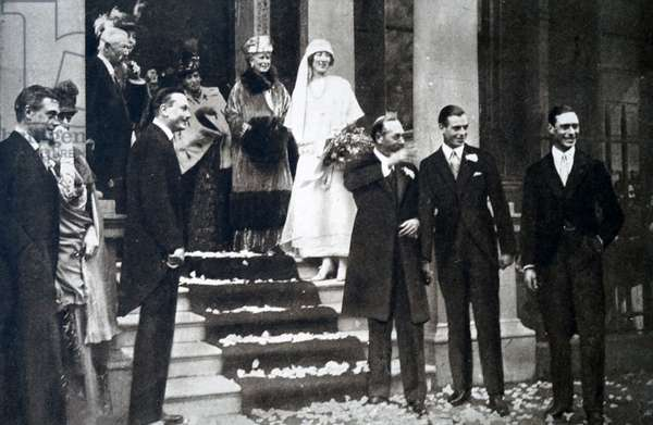 The wedding of Maud of Wales and King Haakon VII