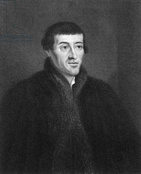 Nicolaus Copernicus Engraving
