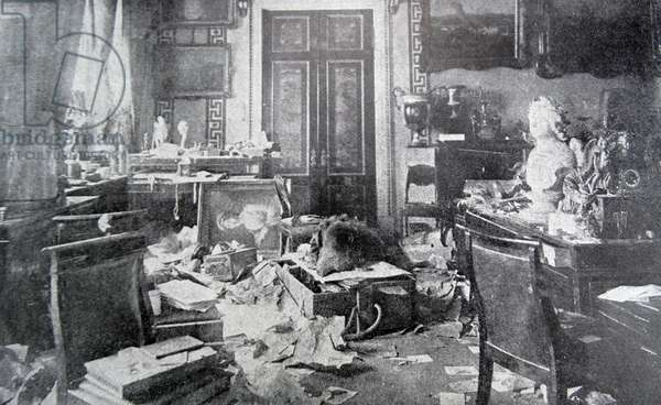 Office of the Tsar Nicholas II of Russia, 1917