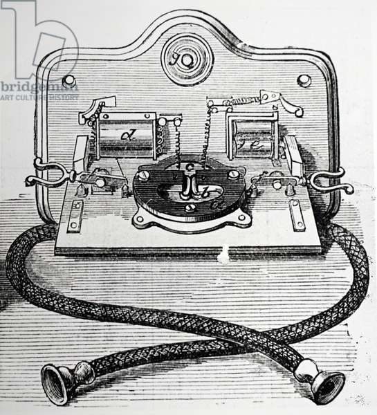 Gower-bell telephone, 1892
