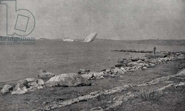 Wreck of Zeppelin L-20