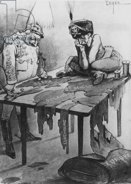 Propaganda War Art, Cartoons, Posters, 1916