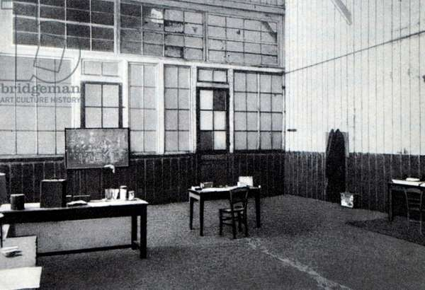 The office of Pierre Curie.