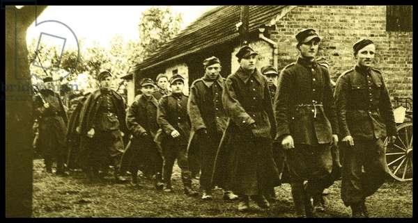 Polish prisoners of war.