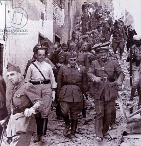 Spanish Civil War nationalist leaders: Generals Verela