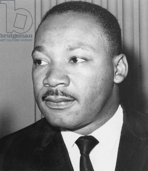 Martin Luther King  Jr (1929-68). American black civil rights campaigner. Assassinated, supposedly  by James Earl Ray